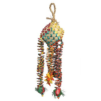 Woven Wonders Diamond Bouncer Parrot Toy