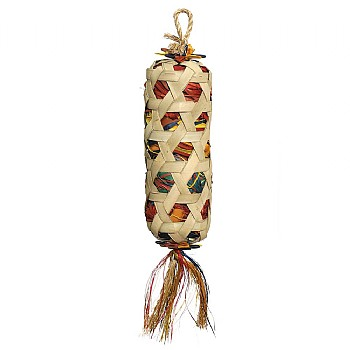 Woven Wonders Foraging Basket Parrot Toy - Large