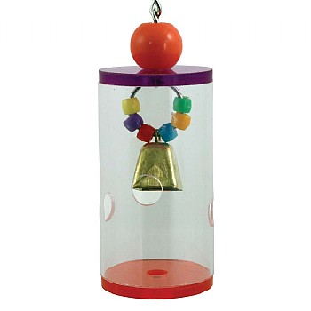 Northern_Parrots Jingle Foraging Barrel Parrot Toy