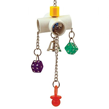 Slide n Spin - Durable Parrot Toy