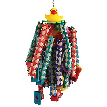 Lucky Ducky Long Legs Parrot Toy