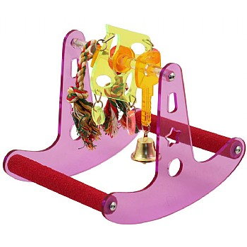 Northern_Parrots Seesaw Play Rocker Parrot Stand