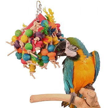 Northern_Parrots Stuffed Slice Hanging Parrot Toy