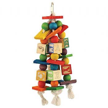 Northern_Parrots Jumble Stacks Parrot Toy