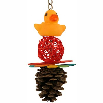 Quackers for Vine Cones Parrot Toy