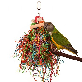 Northern_Parrots Shredding Stack Parrot Toy
