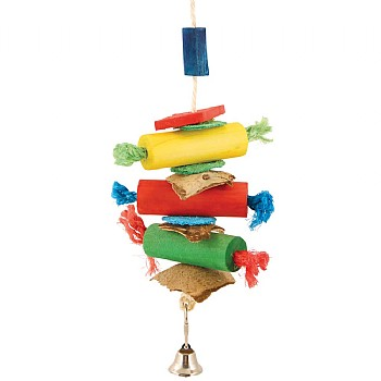Firecrackers Stack Parrot Toy