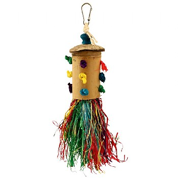 Rocket Power Chewable Foraging Parrot Toy
