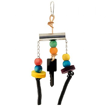 Key Chime Parrot Toy