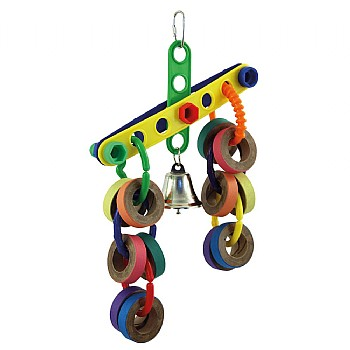 Topsy Turvy Parrot Toy