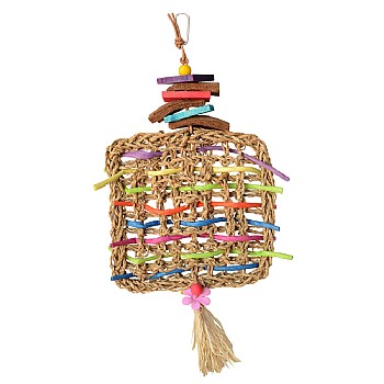 Superbird Woven Whimsy Parrot Toy
