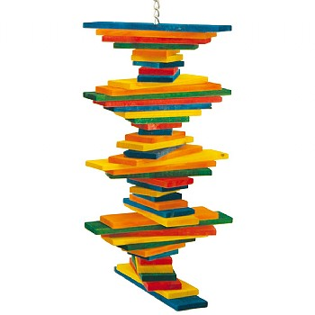 Pharaon Tower Twist Parrot Toy - Medium