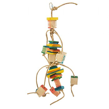 The Groovy One Parrot Toy