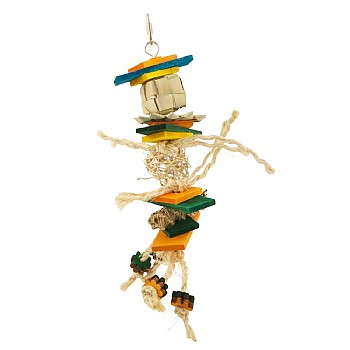 Mambo Stack Parrot Toy