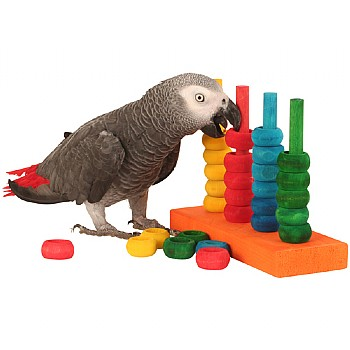 The Teacher Toy - Parrot Training Toy