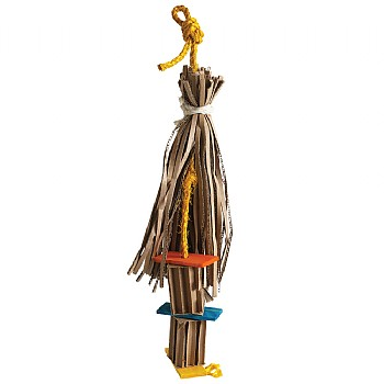 Sombrero Shreddable Parrot Toy