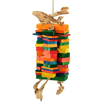 Temple Towers Parrot Toy