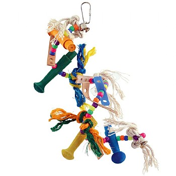 Zoo-Max Helter Skelter Spiral Parrot Toy
