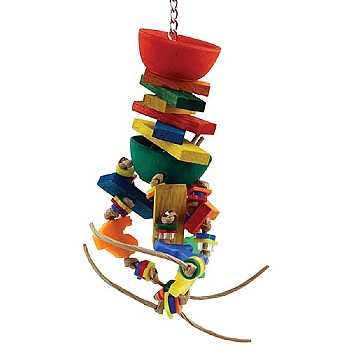 Orbit Chewable Foraging Parrot Toy