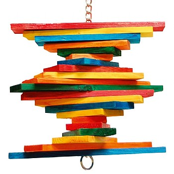 Pharaon Tower Twist Parrot Toy - Small