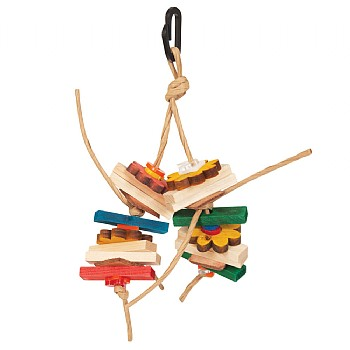 DouDou Chew Stack Parrot Toy