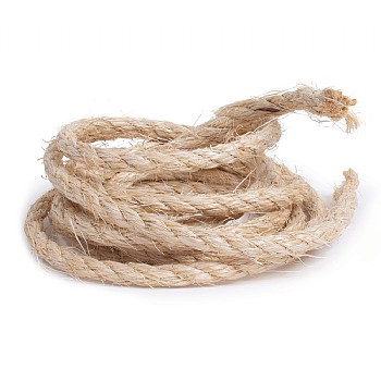 Natural Sisal Ropes - Parrot Toy Making Parts - 9mm x 3M