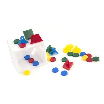 Bank Puzzle Toy and Teach Box - Small