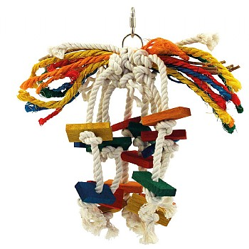 Toopet - Preenable Parrot Toy - Small