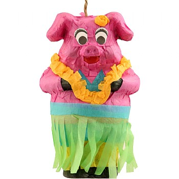 Piggy Pinata Parrot Toy - With Treats