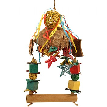 Under The Stars Parrot Toy and Swing