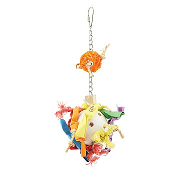 Paradise_Toys Candy Crunch Ball Parrot Toy - Medium