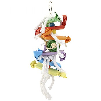 Candy Crunch Stacker Parrot Toy - Large