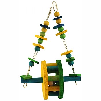 Ferris Wheel Swing Parrot Toy - Large