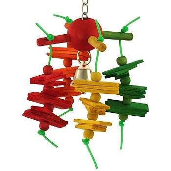 Carousel Chew Parrot Toy - Small