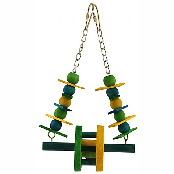 Ferris Wheel Swing Parrot Toy - Small