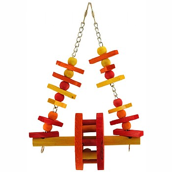 Ferris Wheel Swing Parrot Toy - Medium