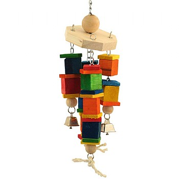 Large Wind Chime Carousel Parrot Toy