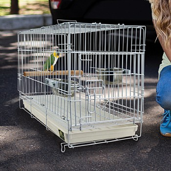 Folding Travel Cage for Parrots