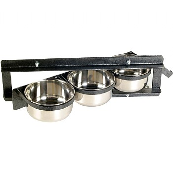 other Swing Feeder - 3 Dish - Parrot Feeding Bowl