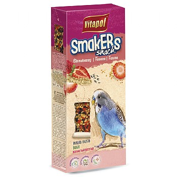 Vitapol Vitapol Budgie Sticks Twinpack - Strawberry
