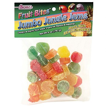Brown`s Jungle Fruit Jems Parrot Treats