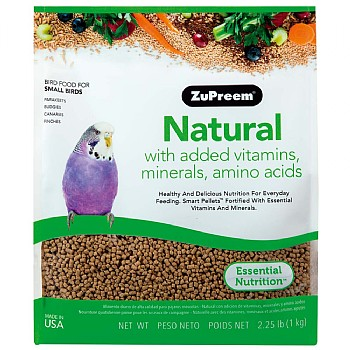 ZuPreem Natural Small - Complete Food for Budgies