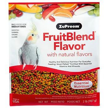 ZuPreem FruitBlend Medium - Complete Food for Cockatiels