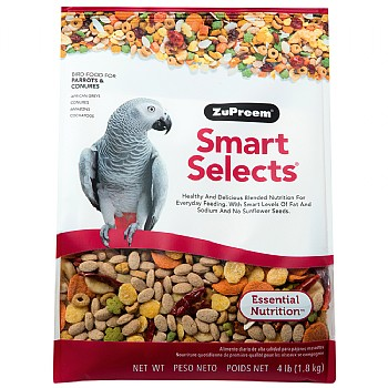 ZuPreem Smart Selects Med/Lrg  - Complete Parrot Food