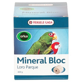 Versele-Laga Loro Parque Mineral Block for Parrots - 400g