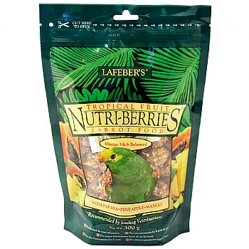 Lafeber Nutri-Berries Tropical Fruit Complete Parrot Food