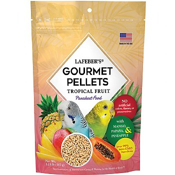 Lafeber Gourmet Pellets - Tropical Fruit - Budgie Food
