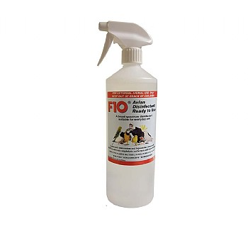 F10 Avian Disinfectant Ready to Use Spray & Refill