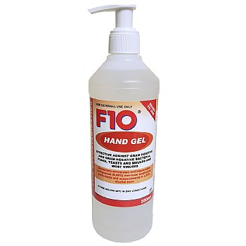 F10 Hand Gel - Waterless Skin Decontaminant