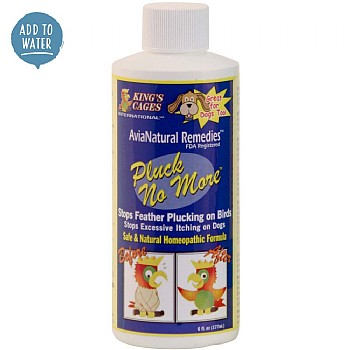 Pluck No More - Natural Feather Plucking Remedy - 177ml